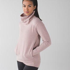 Lululemon On The Double Pullover Sweatshirt Sz 10